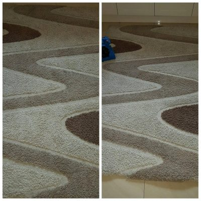 rug cleaning and drying