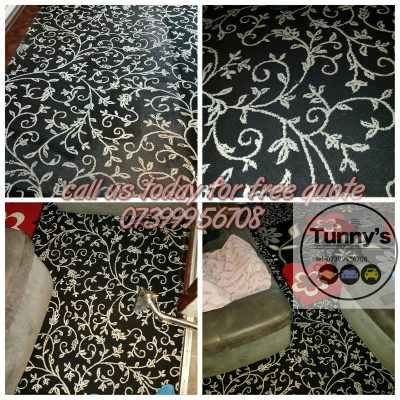 patterned rug cleaning