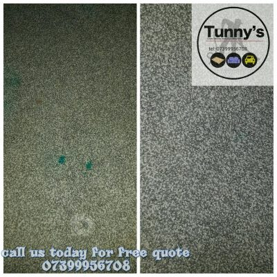 stain removal from grey carpet